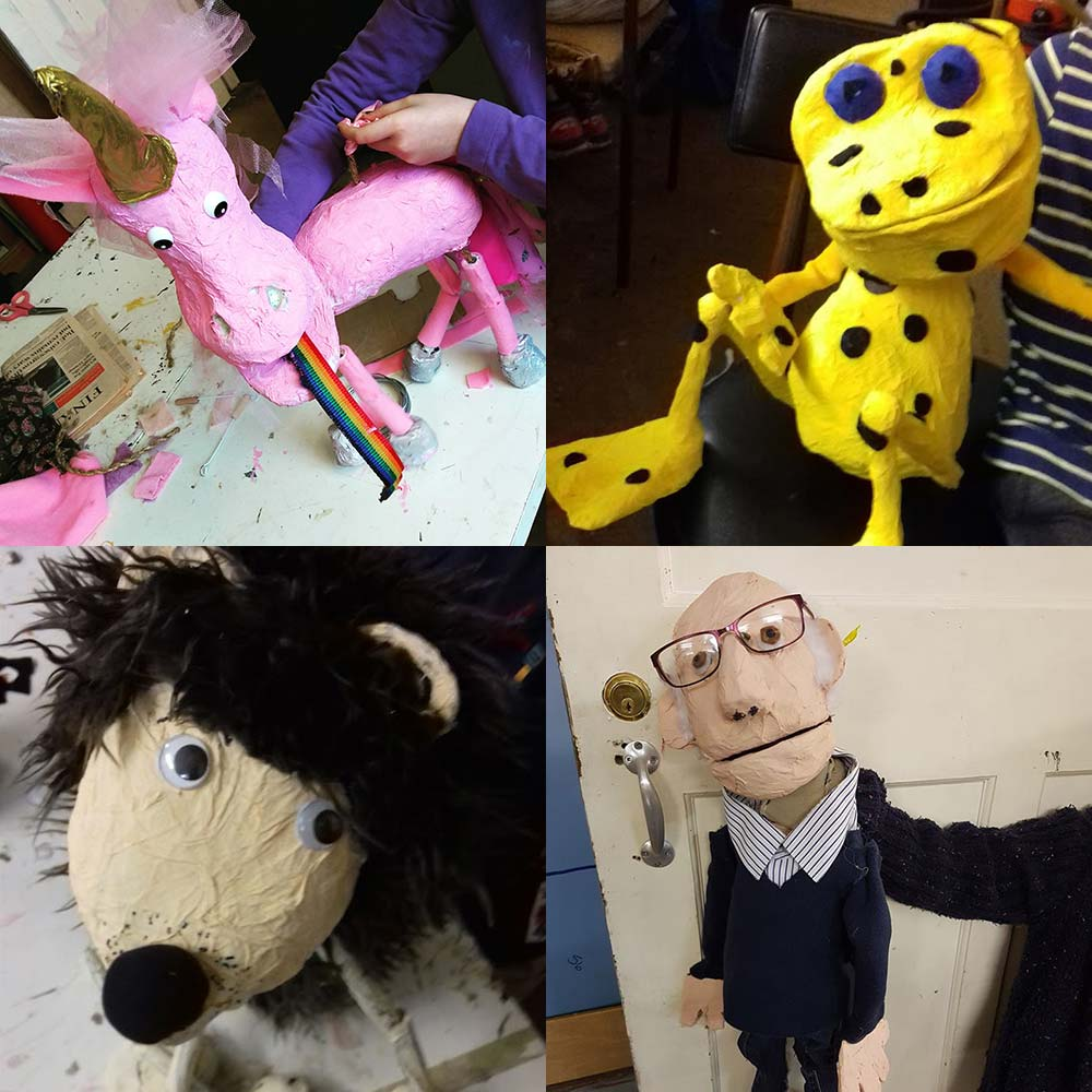 Puppet Club creations