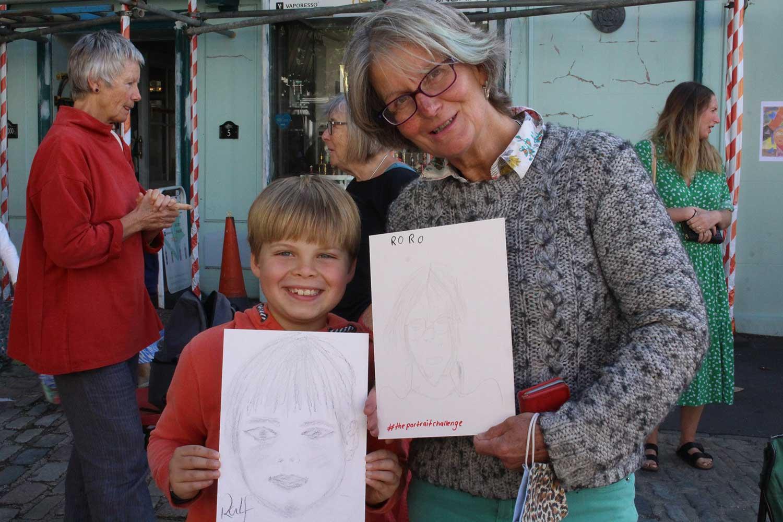 The Portrait Challenge Bridport