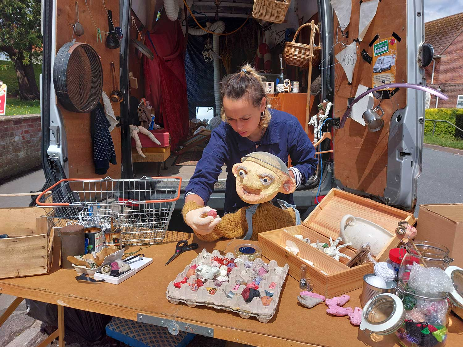 Right Up Your Street - Puppet Making With Marina