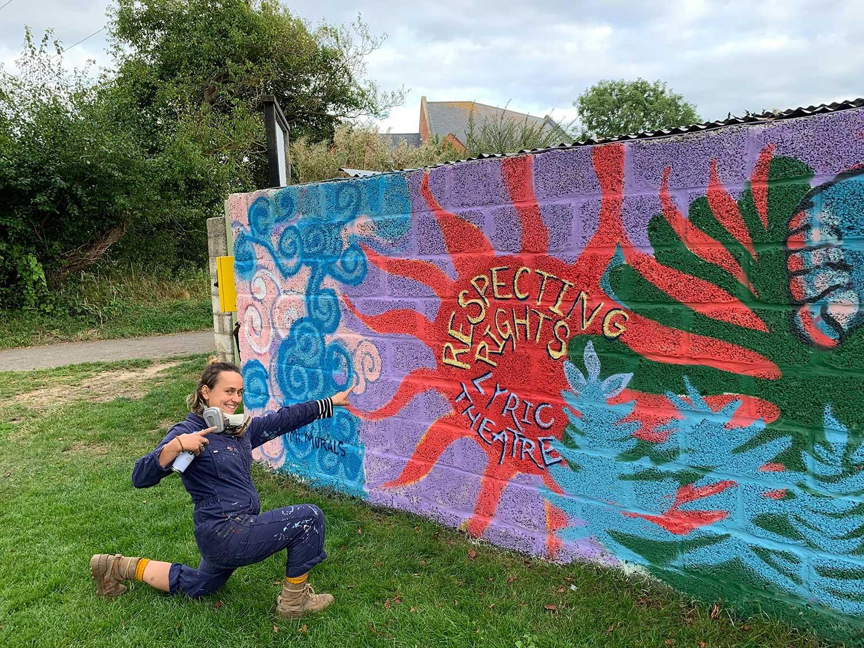 Bridport Rights Respecting Mural